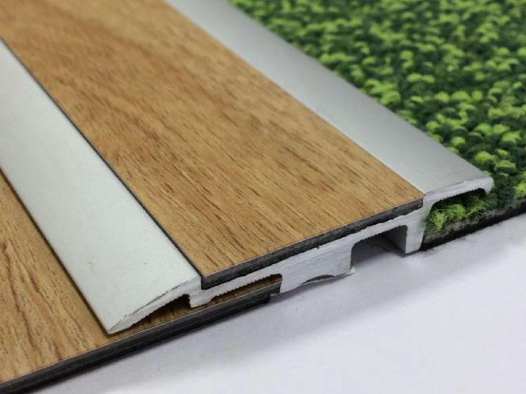 Designer Flooring Services LVT transition strips